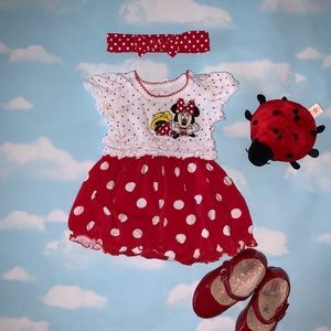 Disney Minnie Mouse Romper 3M